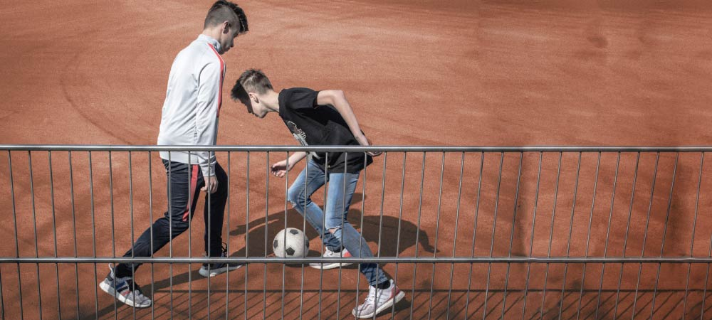 Ballspielplatte-Anwendung