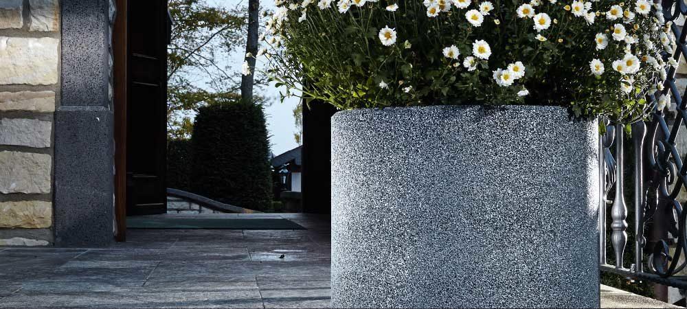 Vase-Flora-Anwendung